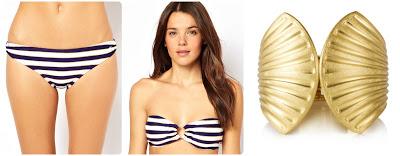 002 FC bikini Gold bangle